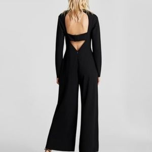 Zara Black Long Sleeve Jumpsuit